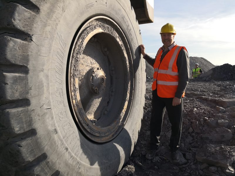 A day in the life with Bridgestone OTR major accounts manager Rob Cole