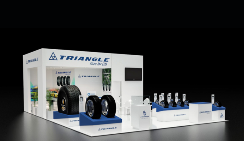 Triangle showing new ranges at Autopromotec 2019