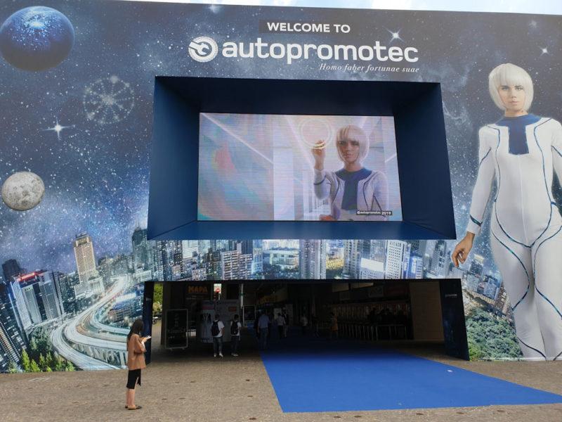 Autopromotec 2019 kickstarts