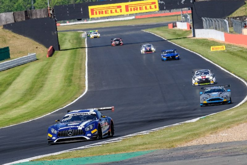 Pirelli at Silverstone Blancpain GT Series Endurance Cup round 2