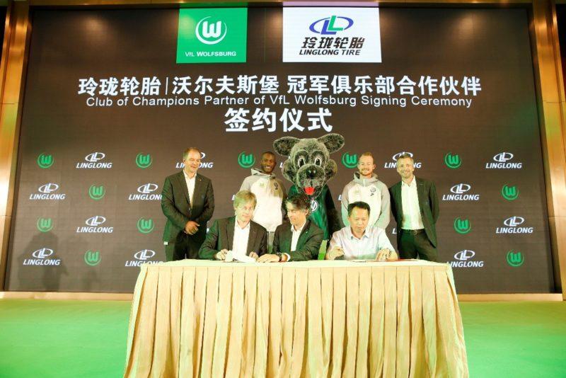 Linglong Tire renews VfL Wolfsburg partnership