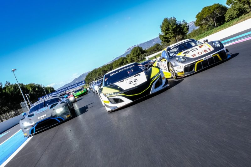 Pirelli at Paul Ricard for Blancpain GT endurance