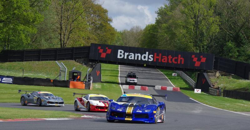Pirelli supported Ferrari Challenge UK holds prologue test