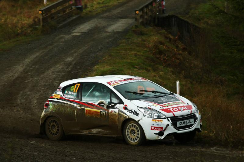 McErlean wins Pirelli International Rally double