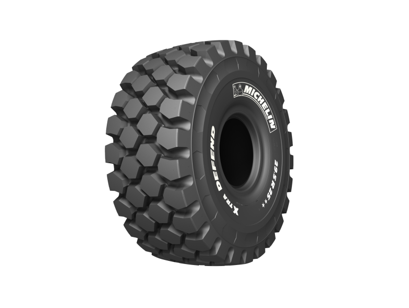 Michelin provides XTRA benefits with new articulated dump truck tyre