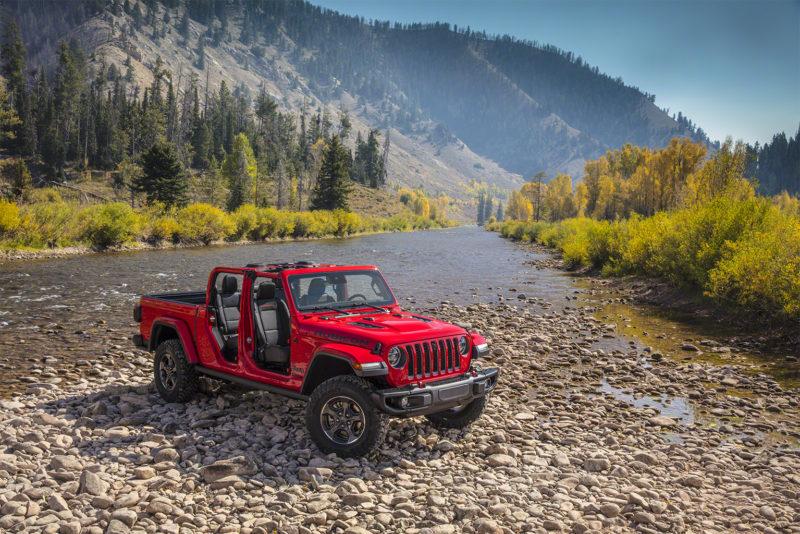 Falken OE on Jeep Gladiator in US