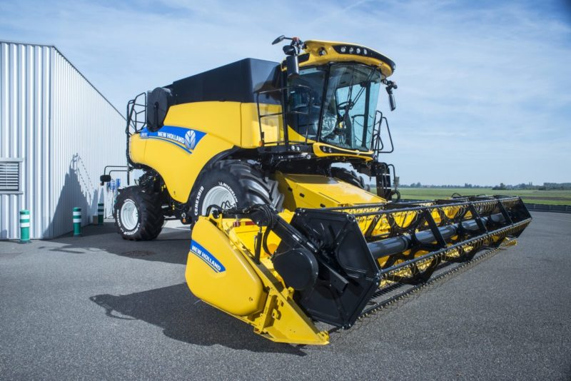Michelin urges farmers to pay closer attention to rear harvester tyres