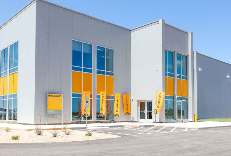 Continental opens tyre testing facility in USA