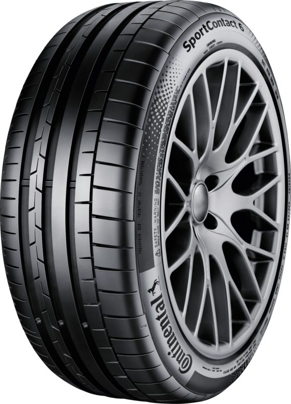 Continental SportContact 6 represents manufacturer's UHP edge