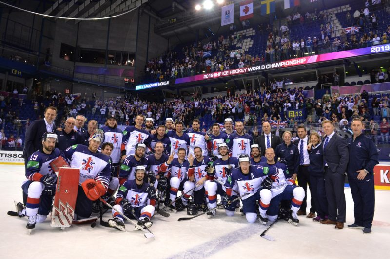 Lucas hails GB men's ice hockey comeback