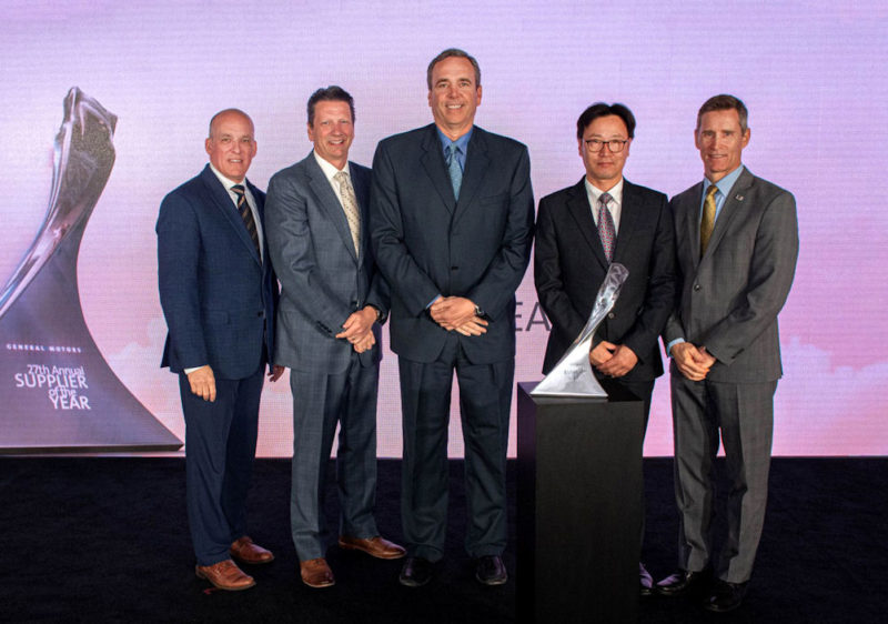 GM names Hankook Tire a supplier of the year