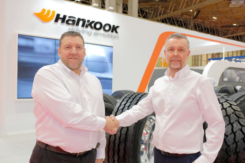 Hankook Tyre UK appoints new TBR sales manager, as Thorp retires