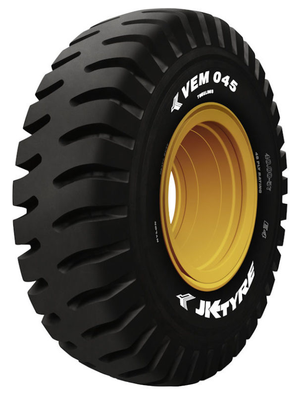 India's largest OTR tyre – JK Tyre enters the record book