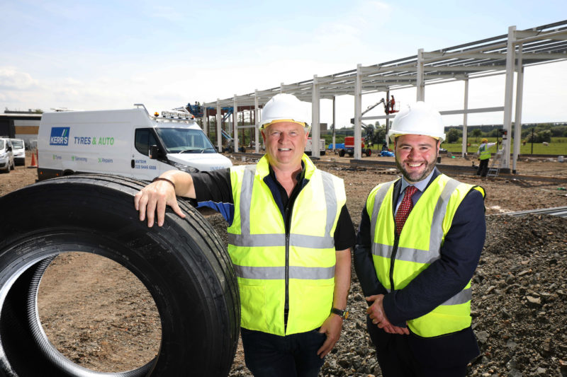 Kerr's Tyres & Auto creates 20 new jobs in £2.5 million investment