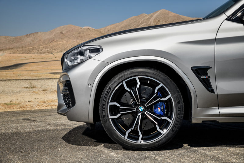 Michelin Pilot Sport 4S OE on new BMW X3 M and X4 M