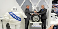 Michelin & Safran conduct flight tests on connected aircraft tyre