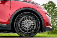 No more flat tyres: Michelin presents airless solution for cars
