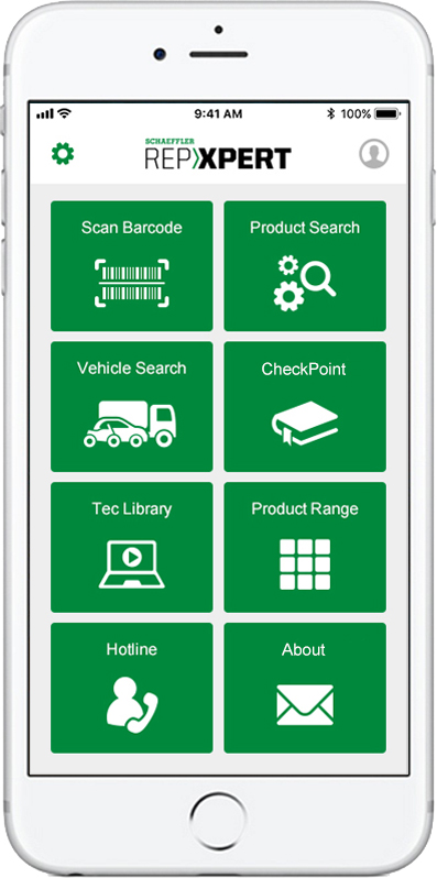 Schaeffler unveils Repxpert app at Automechanika Birmingham 2019