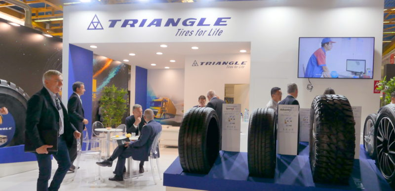 Triangle moving to make its mark in Europe