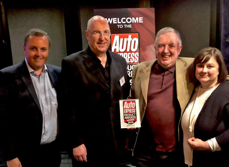 Philips RacingVision awarded Auto Express Headlight Bulb of the Year 2019