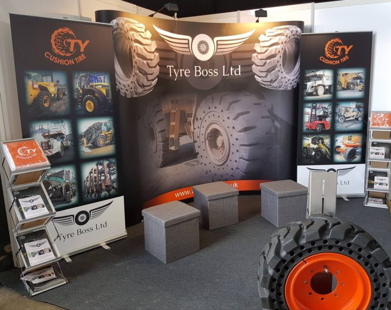 Tyre Boss exhibiting at Plantworx