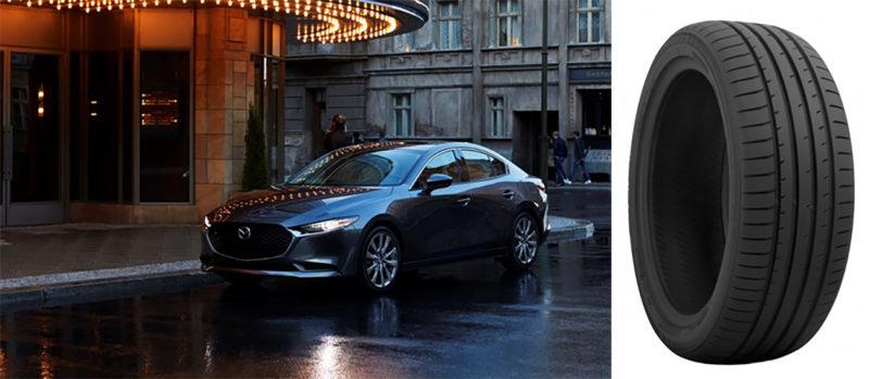 Toyo Proxes chosen for Mazda3
