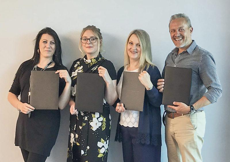 40% of Hankook UK workforce now hold long service awards