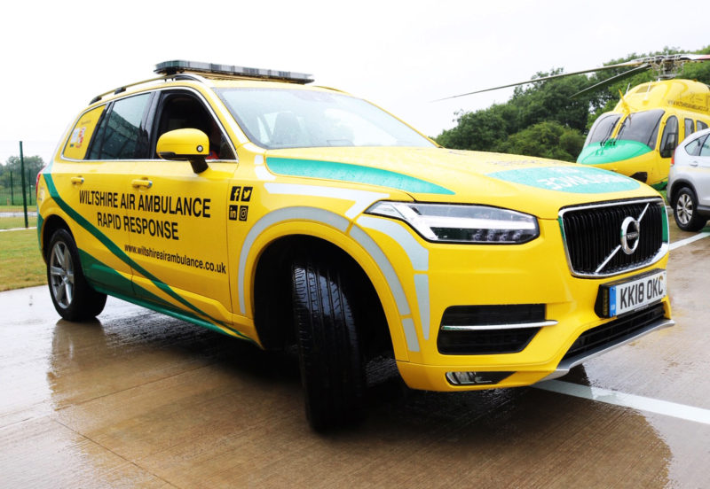 Cooper Tire supports Wiltshire Air Ambulance