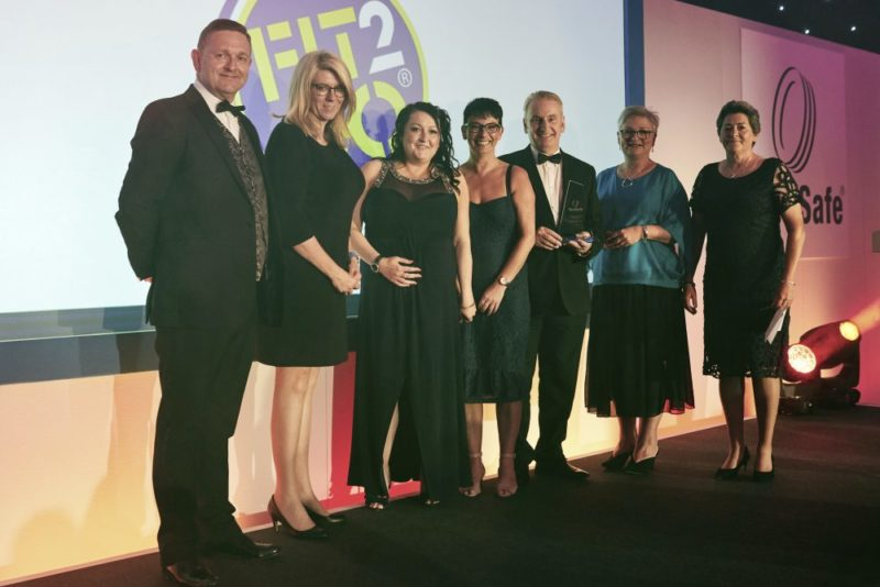 TyreSafe award for Michelin Tyre Pressure Monitoring System (TPMS) – Bike