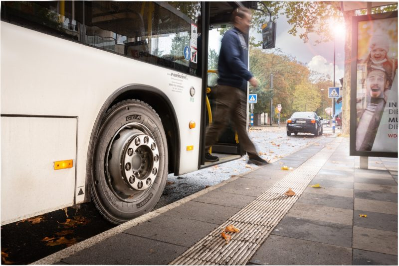 Giti launches all-position urban-bus tyre
