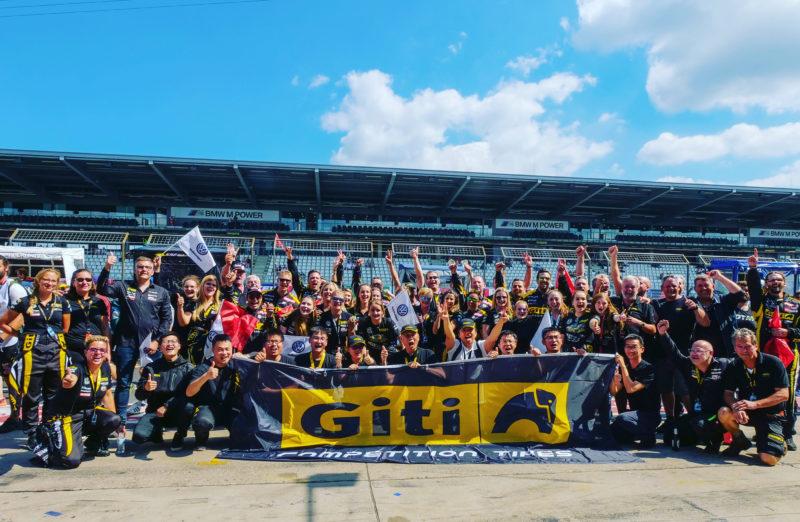 Giti ladies team 'inspires fans' at Green Hell