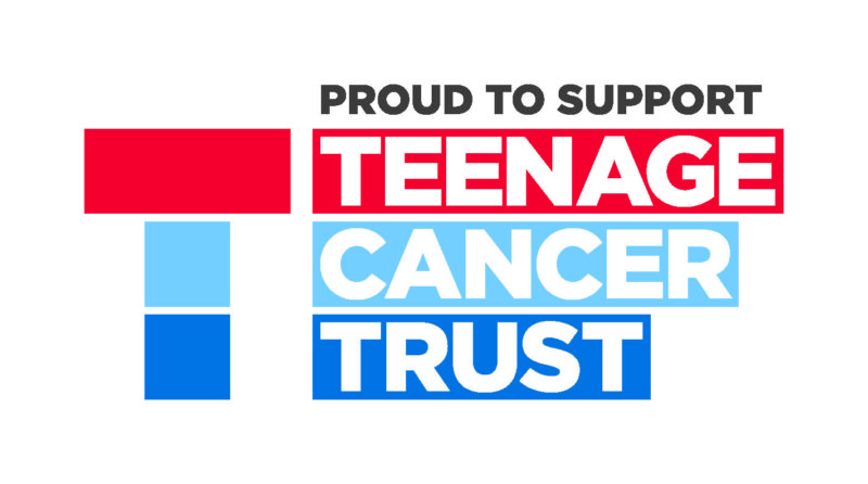 Scotlands Ash increases donation to Teenage Cancer Trust