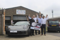 Customer 'amazed' to win Porsche 911 Carrera in The Parts Alliance promotion