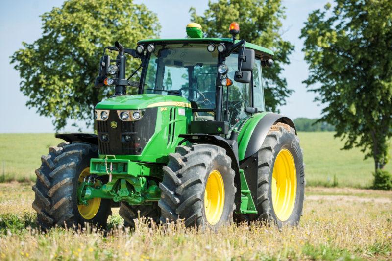 John Deere partnership: Continental tyres gain OE approval