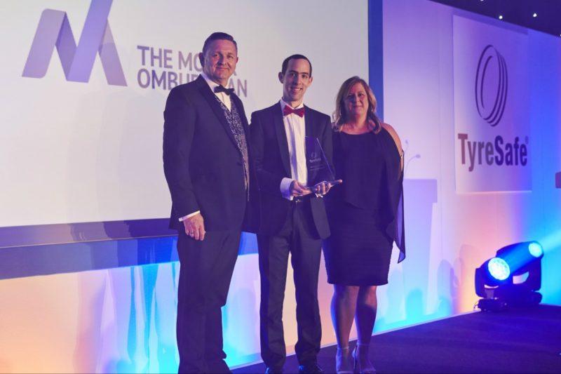 The Motor Ombudsman wins TyreSafe Online and Social Media award