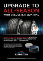 Vredestein campaign to encourage all-season tyre use