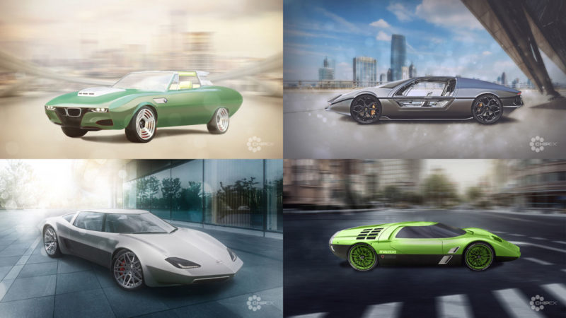 Chipex unveils concept cars from yesteryear