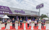 Apollo Tyres opens first truck tyre centre in Thailand