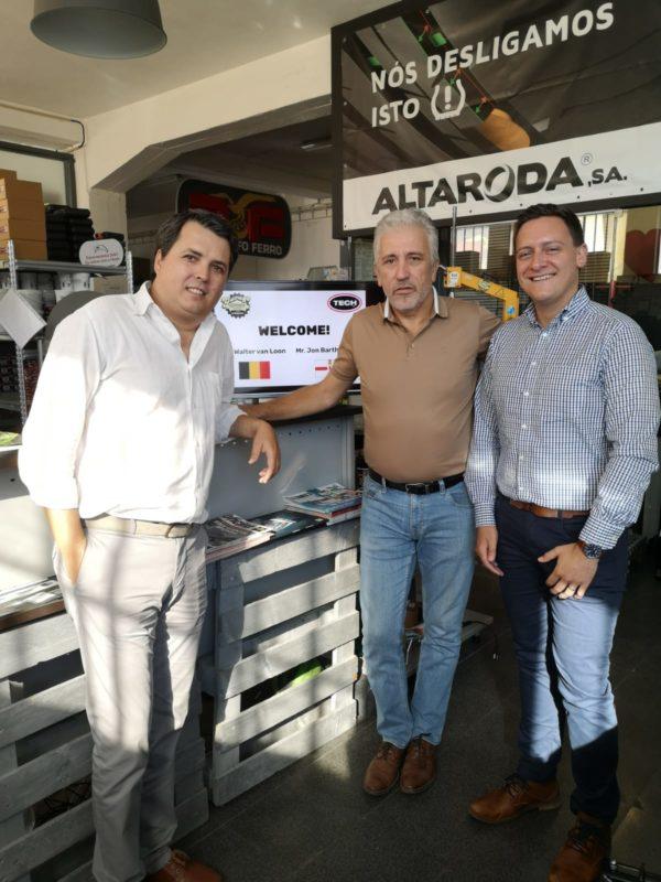 TECH visits Portuguese distributor, enhancing product lineup