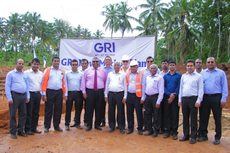 Groundbreaking held for new GRI Tires mixing facility