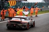 Gulf and Porsche roll back the clock to win Spa 24 hours