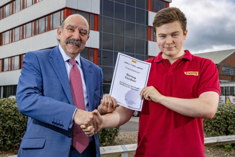 Pirelli announces UK Student Awards winners