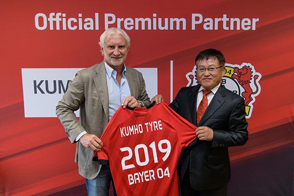 Kumho partners with German football club Bayer 04 Leverkusen