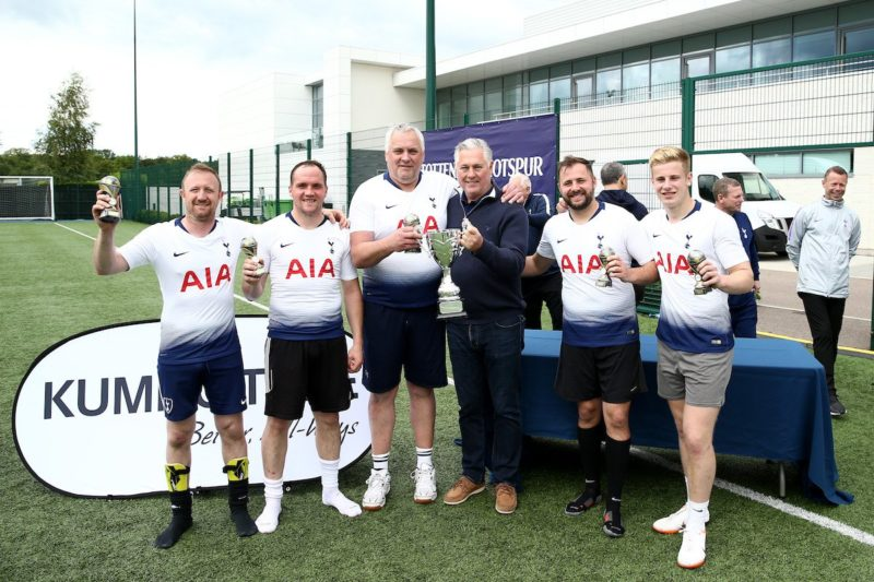 Kumho customers play the beautiful game, Spurs-style