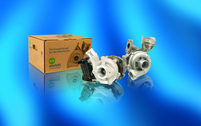 Melett announces new to range turbocharger units