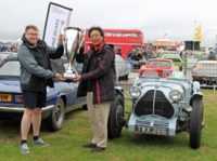 Yokohama celebrates 30 years in the UK at classic motor racing festival