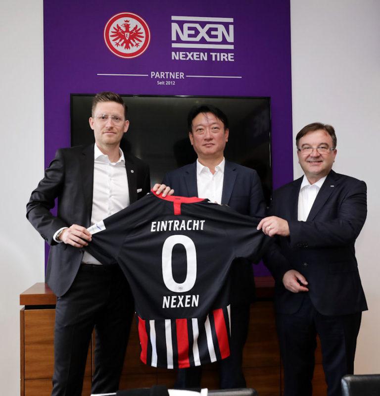 3 more years: Nexen Tire extends Eintracht Frankfurt sponsorship
