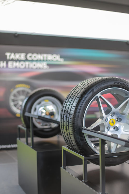 Pirelli sponsors Concorso Italiano at Monterey Car Week