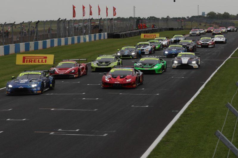 Eleven brands at Brands Hatch with Pirelli in British GT