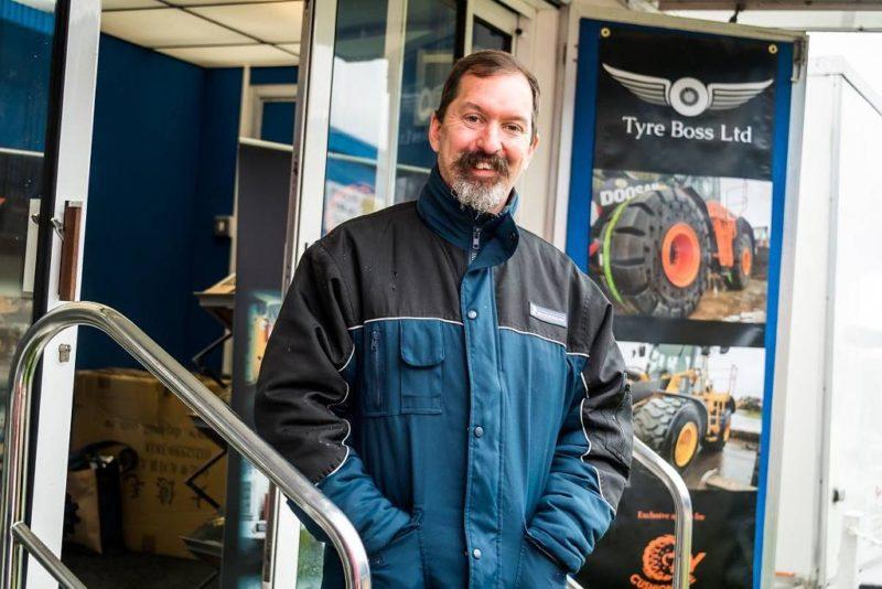 Tyre Boss to make RWM debut